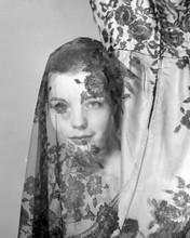 Romy Schneider early studio portrait with short hair 8x10 inch photo