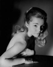 Tuesday Weld studio glamour portrait circa 1960 bare shoulder 8x10 inch photo