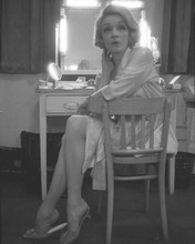 Marl;ene Dietrich candid 1960's pose in her dressing room backstage 8x10 photo