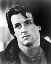 Sylvester Stallone wearing leather jacket as Rocky 8x10 inch photo