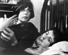 Rocky Sylvester Stallone Talia Shire in bed 8x10 inch photo