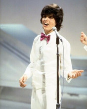 Donny Osmond in white tuxedo early 1970's in concert 8x10 inch photo