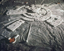 Space 1999 rare shot of Moonbase Alpha from space 8x10 inch photo