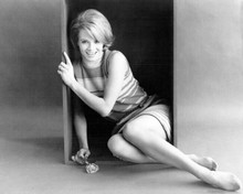Angie Dickinson leggy publicity pose Point Blank 8x10 inch photo