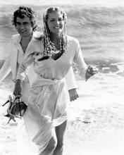 10 1979 movie Bo Derek runs in surf with Dudley Moore 8x10 inch photo