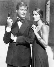 The Spy Who Loved Me Roger Moore as Bond Barbara Bach as Anya 8x10 inch photo