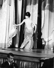 Natalie Wood performs striptease on stage with bare back Gypsy 8x10 inch photo