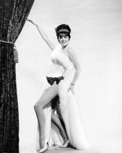 Natalie Wood shows off her legs in open white dress Gypsy 8x10 inch photo
