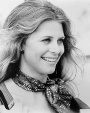 Lindsay Wagner scarf tied around neck as Jamie Sommers The Bionic Woman 8x10