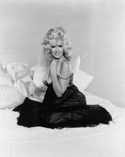 Connie Stevens huge cleavage poses on bed The Sex Symbol 1974 TV movie 8x10