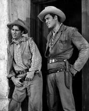 Cheyenne TV series Clint Walker as Cheyenne Clyde Howdy as Townsman 8x10 photo