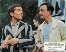 Carry on Camping Kenneth Williams Charles Hawtrey by coach on camp site 8x10