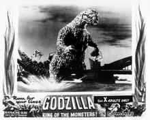Godzilla King of the Monsters 8x10 photo Godzilla destroys bridge in Tokyo Bay