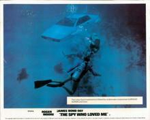 The Spy Who Loved Me Lotus Esprit submarine being filmed underwater 8x10 photo