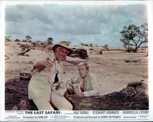 The Last Safari Stewart Granger Kaz Garas in Kenyan landscape 8x10 photo