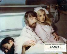 Candy 1968 movie James Coburn holds Ewa Aulin dressed as nurse 8x10 inch photo