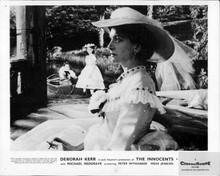 The Innocents Deborah Kerr Pamela Franklin in garden 8x10 inch photo