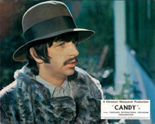 Ringo Starr in fur coat and hat portrait 8x10 inch photo Candy 1968 movie