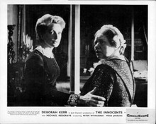 The Innocents Deborah Kerr holds arm of frightened Megs Jenkins 8x10 inch photo