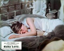 Linda Hayden lies in bed sucking thumb Baby Love 8x10 photo