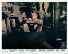 Charlton Heston takes a bath in wooden tub Will Penny western 8x10 photo