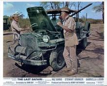 The Last Safari Stewart Granger Kaz Garas try to fix Toyota vehicle 8x10 photo