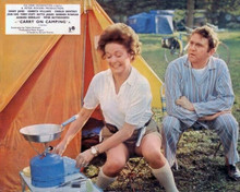 Carry on Camping Betty Marsden Terry Scott cook breakfast outside tent 8x10