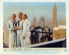 On The Town Jules Munshin Frank Sinatra Kelly Empire State Building 8x10 photo