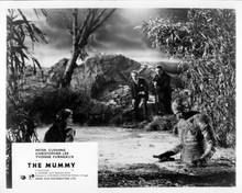 The Mummy 1959 Christopher Lee Peter Cushing Yvonne Furneaux swamp 8x10 photo