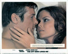 The Spy Who Loved Me Roger Moore Barbara Bach romantic moment 8x10 photo