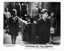 Children of the Damned Barbara Ferris with creepy children 8x10 inch photo