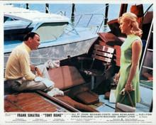 Tony Rome Frank Sinatra Sue Lyon on boat in Miami harbor 8x10 photo
