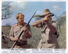 The Last Safari Stewart Granger takes aim in Kenyan bush Kaz Garas 8x10 photo