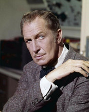 Vincent Price scary looking portrait in suit The Tingler 8x10 inch photo
