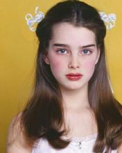 Brooke Shields studio portrait 1978 Louis Malle movie Pretty Baby 8x10 photo