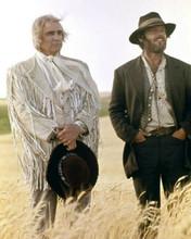 The Missouri Breaks Marlon Brando Jack Nicholson in wheat field 8x10 inch photo