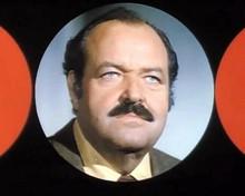 William Conrad as Frank Cannon in classic TV series Cannon intro 8x10 inch photo
