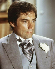 Timothy Dalton looks suave in wedding suit as Bond License To Kill 8x10 photo