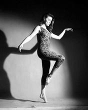 Ann-Margret full length barefoot in leotard 1960's era 8x10 inch photo