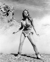 Raquel Welch as cave girl Loana most famous pose One Million Years BC 8x10 photo