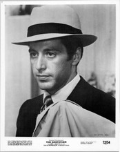 Al Pacino as Michael Corleone in suit and hat 8x10 original photo The Godfather
