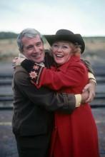 Perry Como hugs Greer Garson on Perry Como's Christmas in New Mexico 4x6 photo