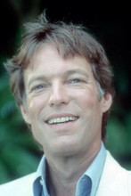 Richard Chamberlain smiling candid pose 1980's in white jacket 4x6 inch photo
