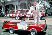 Fantasy Island Ricardo Montalban Herve Villechaize Plymouth Volare golf cart 4x6