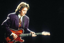 George Harrison on stage playing his guitar c.1980's 4x6 inch photo