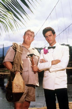 Volunteers 1985 movie John Candy Tom Hanks pose together 4x6 inch photo