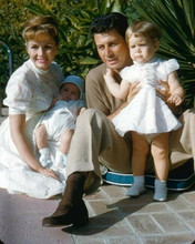 Debbie Reynolds poses with husband Eddie Fisher Carrie Fisher & Todd 8x10 photo