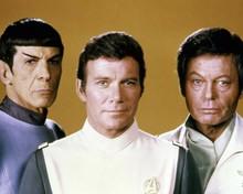 Star Trek The Motion Picture Shatner Nimoy & Kelley studio pose 8x10 inch photo