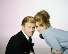 Barefoot in the Park Robert Redford Jane Fonda heads together 8x10 inch photo