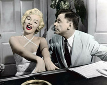 The Seven Year Itch Marilyn Monroe plays piano & sings Tom Ewell 8x10 inch photo